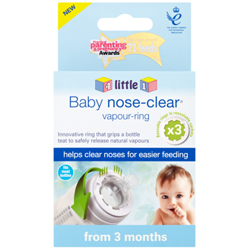 Baby Nose-Clear Vapour Ring