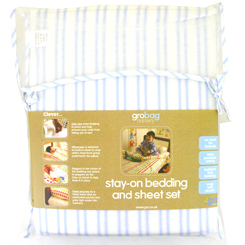 Stay-on Duvet Bedding Set