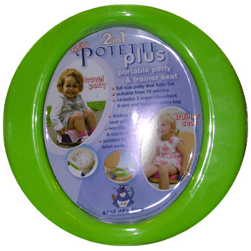Potette 2 in 1 Travel Potty & Trainer Seat