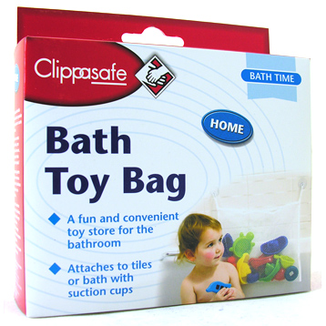 Clippasafe Baby Bath Toy Bag