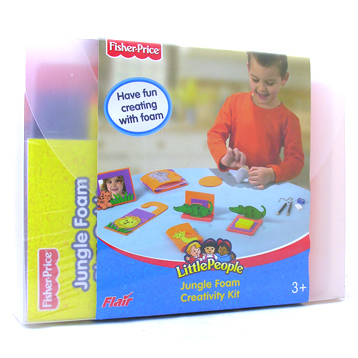 Little People Jungle Foam Creative Kit
