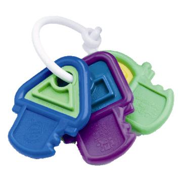 Hard N Soft Teething Keys
