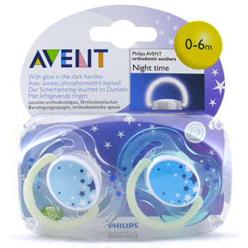 Glow in the Dark Night-Time Soothers