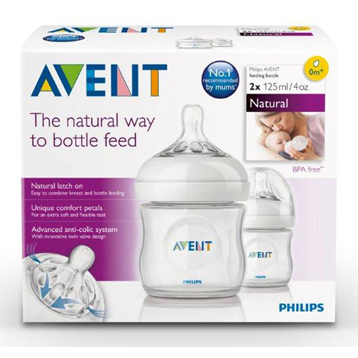 Avent Natural Feeding Bottle