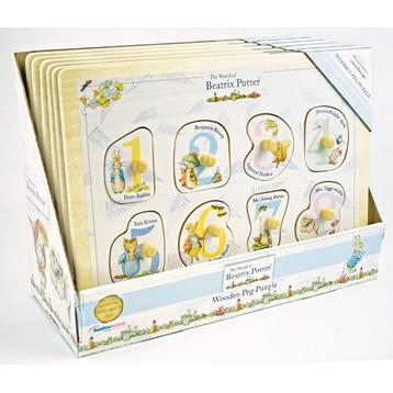 Beatrix Potter Peg Puzzle