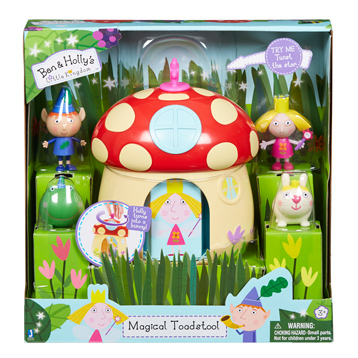 Magical Toadstool Playset