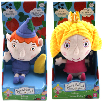 Ben & Holly's Collectable Talking Plush