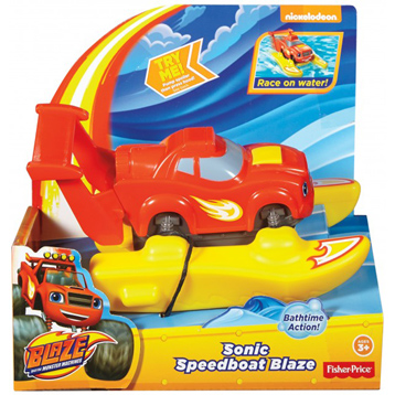 Blaze and The Monster Machines Sonic Speedboat Blaze