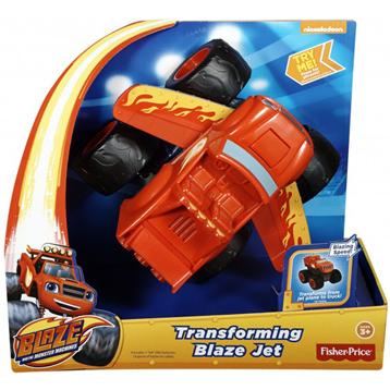 Blaze and The Monster Machines Tranforming Blaze Jet
