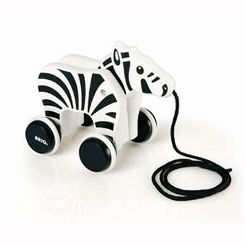 Pull-Along Zebra