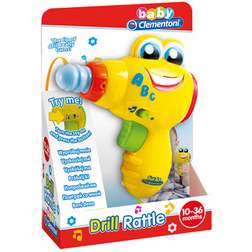 Baby Drill Rattle Toy