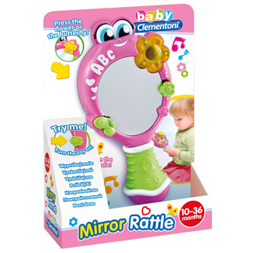Baby Mirror Rattle