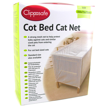 Cot Bed Cat Net