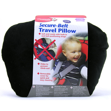 Secure-Belt Travel Pillow