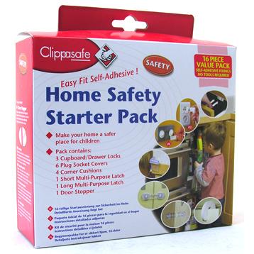 UK Home Safety Starter Pack 16 Piece