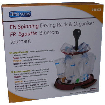 Spinning Drying Rack & Organiser
