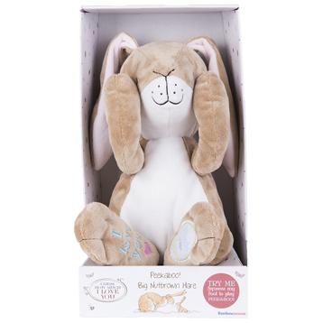 Peekaboo! Big Nutbrown Hare