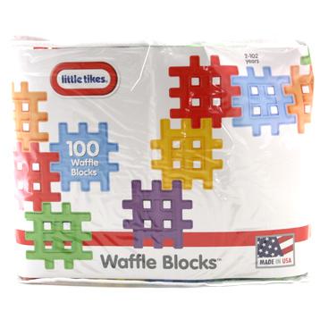 Waffle Blocks 100 Pack
