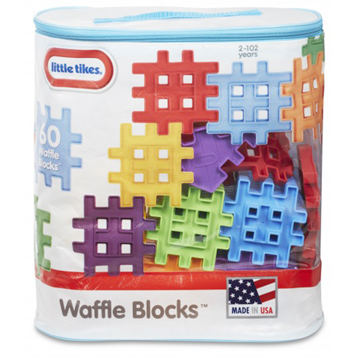 Waffle Blocks 60 Piece Set