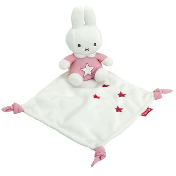 Miffy Pink Cuddle Cloth