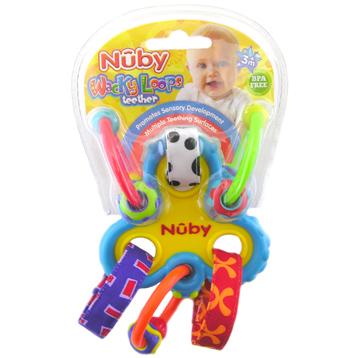 Nuby Wacky Loops Teether