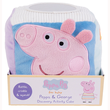 Peppa Pig For Baby Peppa & George Discovery Activity Cube
