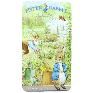 Peter Rabbit 12 Colouring Pencils