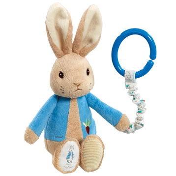 Peter Rabbit Attachable Pram Toy