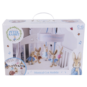 Peter Rabbit Musical Cot Mobile 0-6 Months
