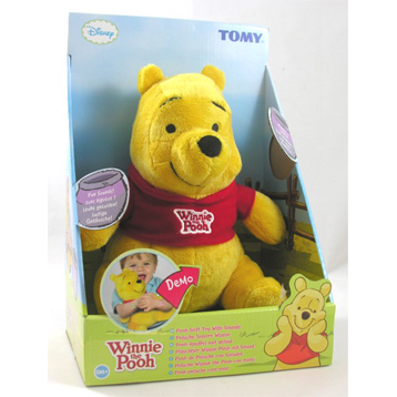 Winnie the Pooh with Sounds Plush