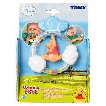 Winnie the Pooh Teething Rattles