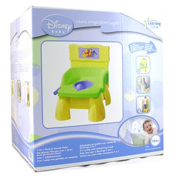 Winnie the Pooh Flush Sounds Potty